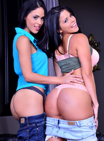 Diamond Kitty & Jasmine Caro centerfold