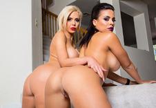 Luna Star & Nina Elle sex position1
