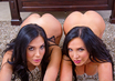 Jaclyn Taylor & Nikki benz in 2 Chicks Same Time