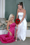 Penny Flame & Nikki Benz - Penny Flame & Nikki Benz in American Daydreams: Bride, Friend, Bed, Hotel, Big Tits, Blonde, Blow Job, Brunette, Cum Swapping, Facial, Fake Tits, Girl on Girl, High Heels, Masturbation, Natural Tits, Piercings, Shaved, Tattoos, Threesome, Threesome BGG