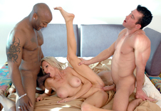 Emma Starr - Emma Starr in Diary of a Milf: Married Woman, MILF, Bed, Bedroom, Living room, Big Fake Tits, Blonde, Interracial, MILFs, Shaved, Tattoos, Threesome BBG