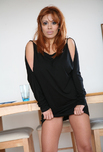 Sienna West - Sienna West in Diary of a Milf: MILF, Wife, Dining Room, Table, Big Ass, Big Fake Tits, Latina, MILFs, Red Head