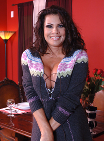 Mrs. Weigel #2:Friend, MILF, Couch, Dining Room, Living room, Table, Big Fake Tits, Brunette, MILFs, Piercings