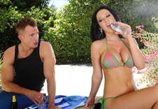 Jayden Jaymes blowjob