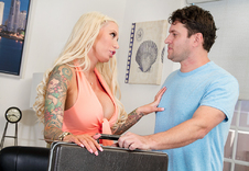 Lolly Ink blowjob