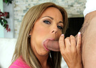 Amber Lynn Bach & Ryan Driller in My Friends Hot Mom -  Blowjob