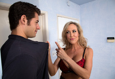 Brandi Love:Friend\'s Mom, Bed, Bedroom, American, Athletic Body, Ball licking, Big Dick, Big Fake Tits, Blonde, Blow Job, Brown Eyes, Brunette, Cum in Mouth, High Heels, Mature, MILFs, Outie Pussy, Shaved, Tattoos