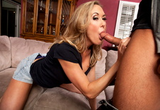 Brandi Love:Friend\'s Mom, MILF, Couch, Living room, Ball licking, Big Ass, Big Fake Tits, Big Tits, Blonde, Blow Job, Deepthroating, Fake Tits, Mature, MILFs, Shaved, Swallowing, Tattoos, Titty Fucking