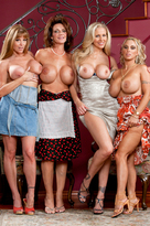 Deauxma & Julia Ann in My Friends Hot Mom  - Centerfold