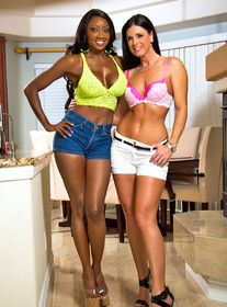 Diamond Jackson & India Summer centerfold