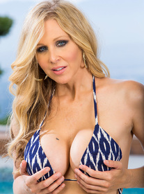 Julia Ann:Friend\'s Mom, MILF, Patio Furniture, Pool, 69, Big Ass, Big Tits, Blonde, Blow Job, Cum on Tits, Fake Tits, Mature, MILFs, Shaved, Tattoos, Titty Fucking