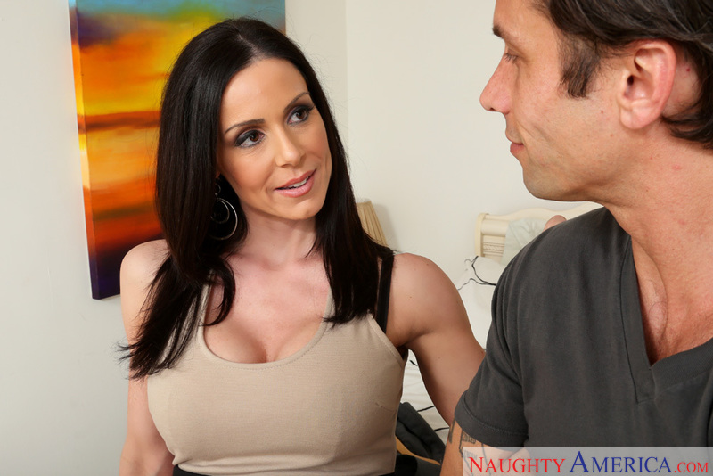 Porn star Kendra Lust getting ready