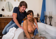 Lisa Ann blowjob