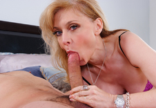 Nina Hartley - Nina Hartley in My Friends Hot Mom: Friend\'s Mom, MILF, Bed, Bedroom, Ass licking, Ass smacking, Ball licking, Big Ass, Big Dick, Blonde, Blow Job, Deepthroating, Facial, Fake Tits, Foot Fetish, Lingerie, Mature, MILFs, Petite, Stockings, Swallowing, Uniform