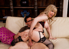 Nina Hartley & Dane Cross in My Friends Hot Mom - Sex Position 3