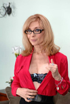Nina Hartley - Nina Hartley in My Friends Hot Mom: Friend\'s Mom, MILF, Couch, Living room, Big Ass, Big Fake Tits, Blonde, Glasses, MILFs, Shaved