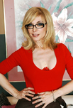 Nina Hartley - Nina Hartley in My Friends Hot Mom: Friend\'s Mom, MILF, Couch, Living room, Anal, Big Ass, Blonde, Glasses, Shaved, Stockings