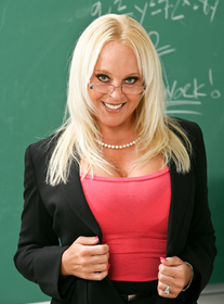 Alexis Golden:Teacher, Classroom, Desk, Ass smacking, Ball licking, Big Ass, Big Dick, Big Tits, Blonde, Blow Job, Facial, Fake Tits, High Heels, Mature, MILFs, Piercings, Shaved, Stockings, Voluptuous