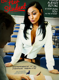 Audrey Bitoni:Bad Girl, Professor, Classroom, Couch, American, Big Fake Tits, Big Tits, Black Hair, Blow Job, Bubble Butt, Deepthroating, Facial, Fake Tits, High Heels, Innie Pussy, Lingerie, POV, Shaved, Stockings, Titty Fucking, Virtual Reality