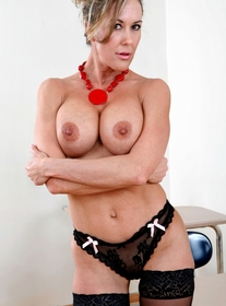 Brandi Love:Professor, Classroom, Desk, Big Tits, Blow Job, Brunette, Facial, Fake Tits, Hand Job, Mature, MILFs, Piercings, Stockings, Tattoos
