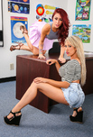 Capri Cavanni & Monique Alexander - Capri Cavanni & Monique Alexander in My First Sex Teacher: Student, Classroom, Desk, 69, American, Ass licking, Athletic Body, Ball licking, BGG, Big Ass, Big Dick, Big Fake Tits, Big Tits, Blonde, Blow Job, Blue Eyes, Caucasian, Fake Tits, High Heels, Innie Pussy, Medium Ass, Outie Pussy, Red Head, Tattoos, Threesome, Threesome BGG, Titty Fucking, Trimmed