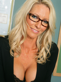 Emma Starr #7:MILF, Professor, Student, Classroom, Desk, Big Fake Tits, Blonde, Glasses, MILFs, Piercings, Shaved, Stockings