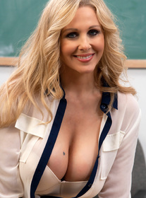 Julia Ann:Professor, Chair, Classroom, Desk, Ass licking, Big Fake Tits, Big Tits, Blonde, Blow Job, Facial, Fake Tits, Hand Job, High Heels, Mature, Stockings, Tattoos, Titty Fucking