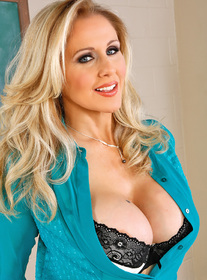 Julia Ann:Professor, Teacher, Classroom, Desk, American, Ball licking, Big Ass, Big Dick, Big Fake Tits, Big Tits, Blonde, Blow Job, Blue Eyes, Bubble Butt, Caucasian, Facial, Fake Tits, Stockings, Tattoos, Trimmed