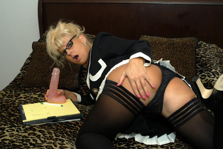 & Vicki Vogue in My First Sex Teacher