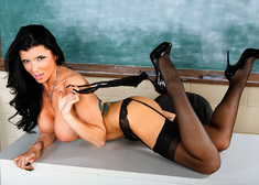 Romi Rain & Johnny Castle in My First Sex Teacher - Centerfold