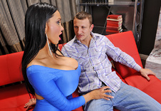 Amy Anderssen blowjob