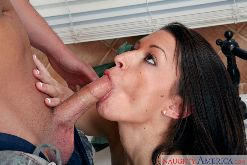 Porn star AnnMarie Rios fucking hard