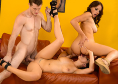 Katrina Jade, Kayla West  & Brick Danger in My Wife's Hot Friend - Centerfold