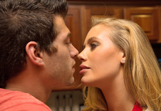 Nicole Aniston blowjob
