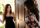 Natalie Heart & Cassie Laine in Neighbor Affair - Sex Position 1