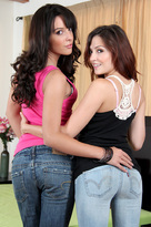 Natalie Heart & Cassie Laine in Neighbor Affair  - Centerfold