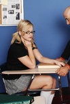 Alexis Texas - Alexis Texas in Naughty Bookworms: Co-ed, College Girl, Student, Classroom, Desk, Big Ass, Big Tits, Blonde, Blow Job, Facial, Glasses, Natural Tits, Piercings