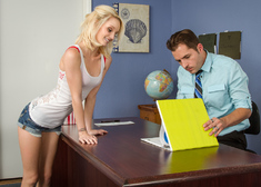 Sammie Daniels & Kris Slater in Naughty Bookworms - Centerfold