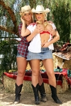 Brooke Haven & Emma Heart - Brooke Haven & Emma Heart in Naughty Country Girls: Client, Country Girl, Stranger, Outdoors, Ranch, Ass licking, Ass smacking, Ball licking, Big Ass, Big Tits, Blonde, Blow Job, Cum Swapping, Curvy, Fake Tits, Girl on Girl, Hand Job, Masturbation, POV, Shaved, Swallowing, Tattoos, Threesome BGG, Uniform, Voluptuous