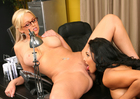 Nina Mercedez & Abbey Brooks in Naughty Office - Sex Position 3