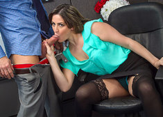 Addie Juniper & Johnny Castle in Naughty Office - Centerfold