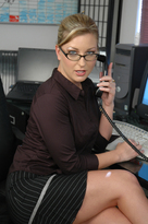 Avy Scott &  in Naughty Office - Centerfold