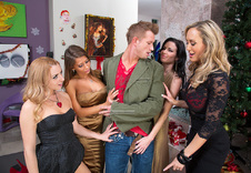 Brandi Love & Lexi Belle & Madison Ivy & Veronica Avluv:Co-worker, Couch, Living room, Ass licking, Ass smacking, Athletic Body, Average Body, Ball licking, Big Dick, Big Fake Tits, Blonde, Blow Job, Brunette, Bubble Butt, Cum Swapping, Deepthroating, Facial, Girl on Girl, Group Sex, Mature, MILFs, Petite, Small Ass, Small Natural Tits, Trimmed