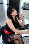 Tory Lane - Tory Lane in Naughty Office: Co-worker, Break Room, Office, Table, Anal, Big Ass, Big Fake Tits, Brunette, Glasses, Shaved, Stockings, Tattoos