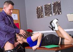 Gabriella Paltrova & Johnny Castle in Naughty Office - Centerfold