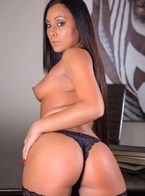 Gianna Nicole centerfold