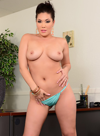 London Keyes centerfold