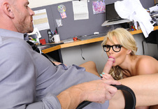 Phoenix Marie:Boss, Office, American, Ass smacking, Ball licking, Big Ass, Big Dick, Big Fake Tits, Big Tits, Blonde, Blow Job, Blue Eyes, Caucasian, Cum in Mouth, Curvy Woman, Deepthroating, Fake Tits, Glasses, Hand Job, High Heels, Innie Pussy, Shaved, Titty Fucking