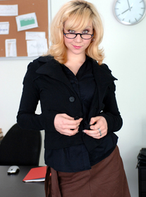 Pinky Lee & Scott Nails in Naughty Office - Centerfold