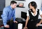 Ruby Rayes & John Strong in Naughty Office - Sex Position 1